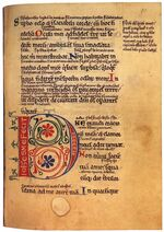 12th-century painters - Psalter with the Gloss - WGA15733