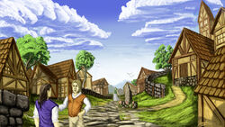 Medieval-Village