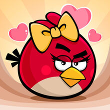 Red Angry Birds Seasons