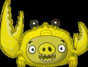 Golden Crab Pig