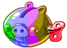 Rainbow pig machine