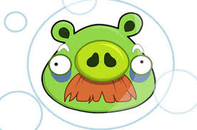 Buble Moustach Pig