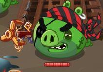 Battle Scarred Pirate