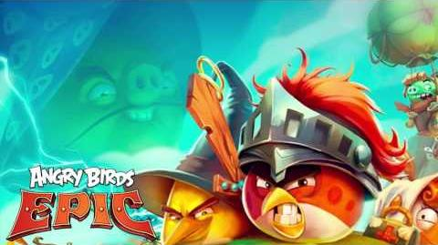 Angry Birds Epic music extended - Pig's Theme (The Angry Birds Movie event 2016)
