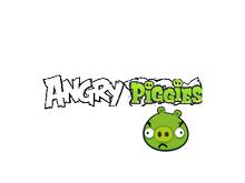 Angry piggies logo