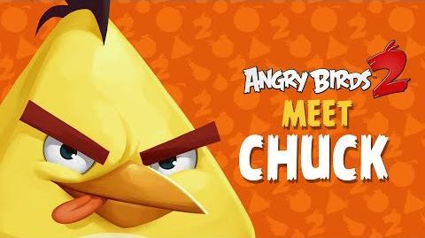 Angry Birds 2 – Meet Chuck Good With Wood!