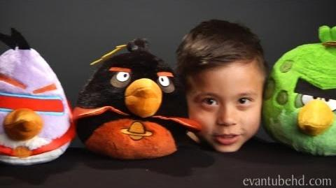 ANGRY BIRDS SPACE Complete Plush Collection