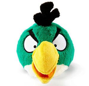 Green Bird Plush