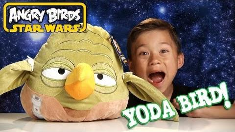 YODA BIRD PLUSH - Angry Birds STAR WARS - More SPECIAL EFFECTS Use the FORCE!