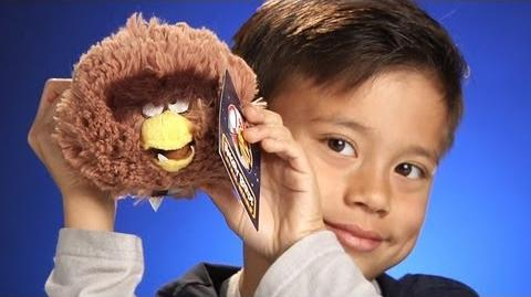 CHEWBACCA BIRD PLUSH toy from Angry Birds Star Wars - Unboxing & Review
