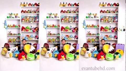 World's Biggest Angry Birds Fan - Stop Motion Collection