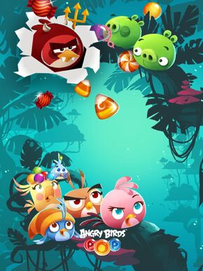 Angry birds pop loading screen