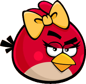 Красная птица-девочка