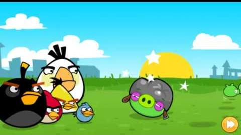 Angry Birds Poached Eggs All levels