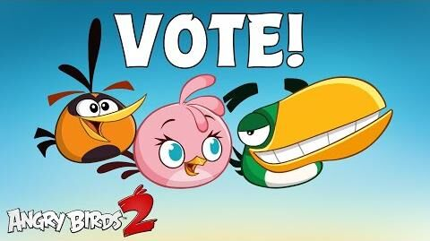 Angry Birds 2 Vote for your favorite bird!