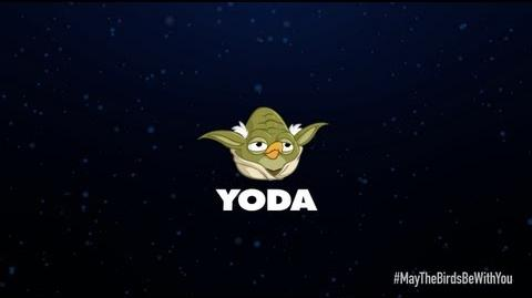 Angry Birds Star Wars 2 character reveals Yoda