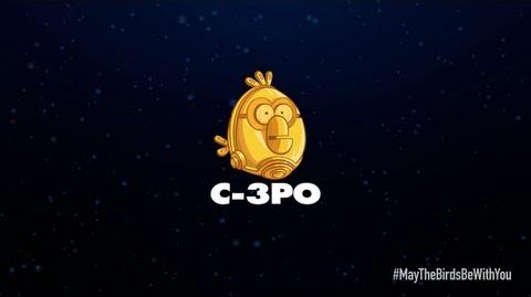 Angry Birds Star Wars 2 character reveals C-3PO