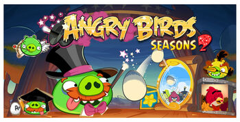 Angry birds seasons 2 menú de carga