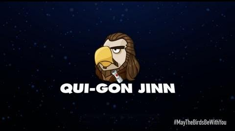 Angry Birds Star Wars 2 character reveals Qui-Gon Jinn