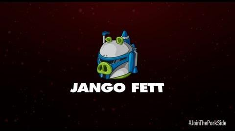 Angry Birds Star Wars 2 character reveals Jango Fett
