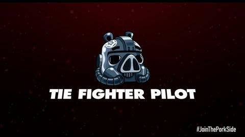 Angry Birds Star Wars 2 character reveals TIE Fighter Pilot