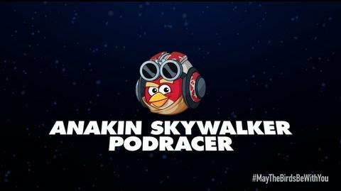 Angry Birds Star Wars 2 character reveals Anakin Skywalker Podracer