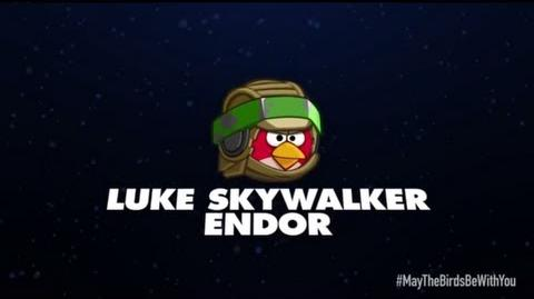 Angry Birds Star Wars 2 character reveals Luke Skywalker Endor