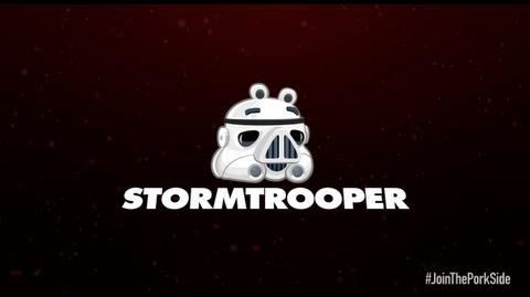 Angry Birds Star Wars 2 character reveals Stormtrooper