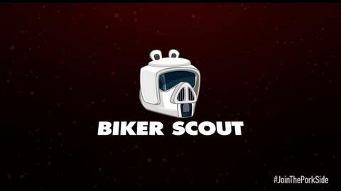 Angry Birds Star Wars 2 character reveals Biker Scout