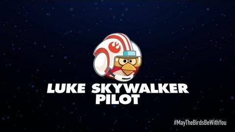 Angry Birds Star Wars 2 character reveals Luke Skywalker Pilot