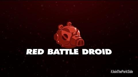 NEW! Angry Birds Star Wars 2 character reveals Red Battle Droid