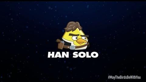 Angry Birds Star Wars 2 character reveals Han Solo