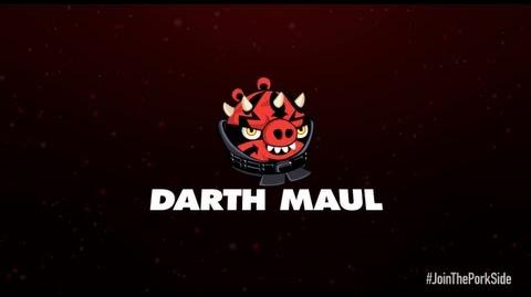Angry Birds Star Wars 2 character reveals Darth Maul