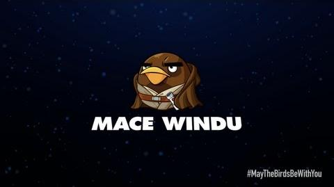 Angry Birds Star Wars 2 character reveals Mace Windu