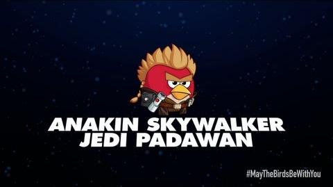 Angry Birds Star Wars 2 character reveals Anakin Skywalker Jedi Padawan