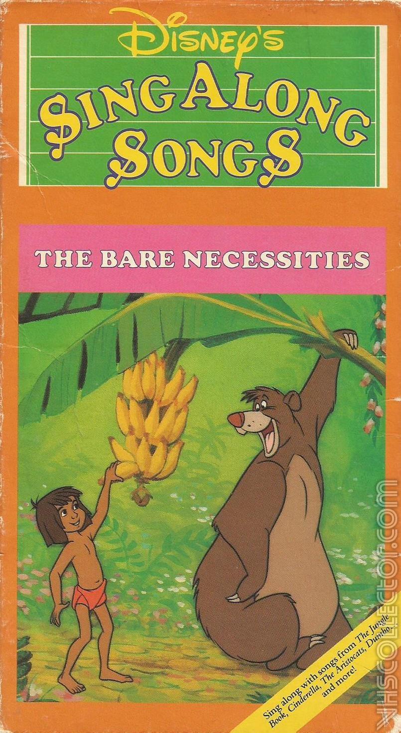 Jungle Book Bear Necessities Video