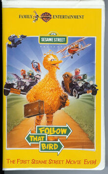 Sesame Street Presents Follow That Bird 1986 2002 Vhs Angry