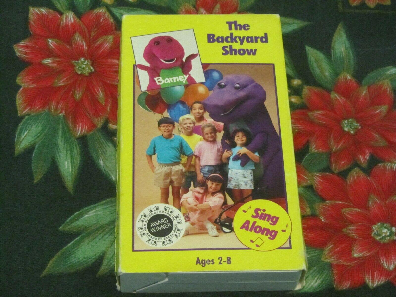 Barney: The Backyard Show (1988-1992 VHS) | Angry Grandpa ...