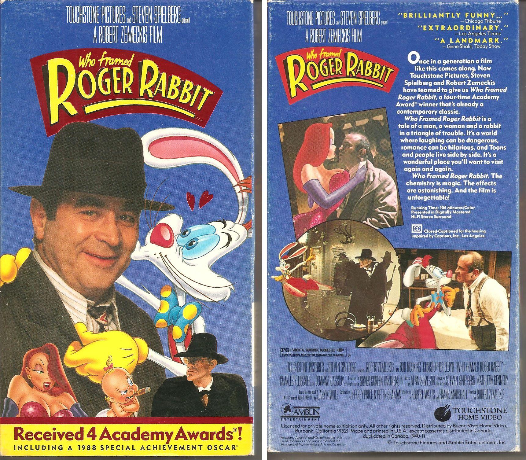 Who Framed Roger Rabbit? (VHS/DVD)