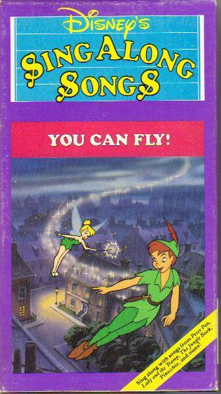 Disney Sing Along Songs Very Merry Christmas Songs 1988 Vhs.Disney S Sing Along Songs You Can Fly Angry Grandpa S