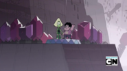 Peridot and Steven At The Kindergarten
