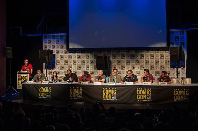 File:I Know That Voice panel - San Diego Comic-Con 2017.jpg
