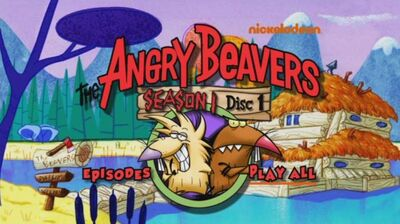 Season 1, Disc 1 - DVD menu