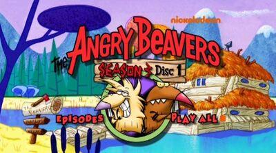 Season 3, Disc 1 - DVD menu