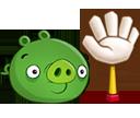 Свинья с рукой