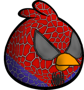 Angry Bird spider man suit-0