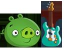 Свинья с гитарой