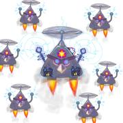 Птица-дрон 2-5