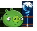 Свинья с водным посохом