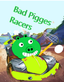 Заставка Bad Pigges Racers